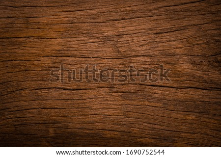 Old wooden texture background that has natural cracks #1690752544