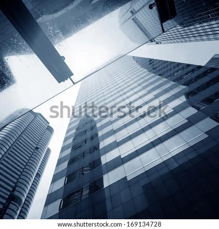 modern business center in hongkong #169134728