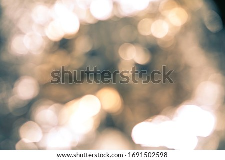Bokeh background , silvery blurred lights, abstract pattern, photoshop layer.