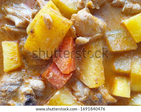 Massaman curry and Thai food pictures