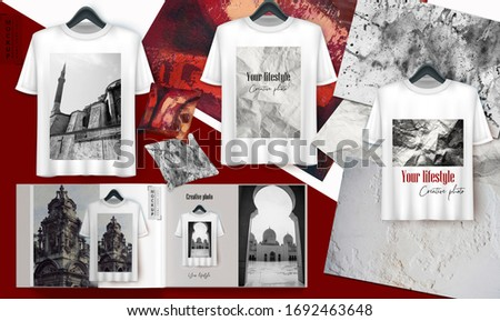 Realistic Breath Of History. Boards Mockup - Creator of scenes based on photos with natural sunlight. The amazing Creator of the theme, the mood is perfect for creating instant photorealistic mockups.