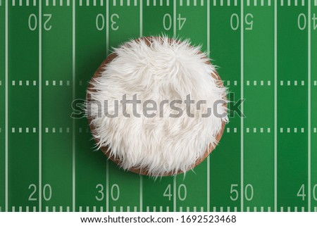 Newborn Digital Photography Background Football Field