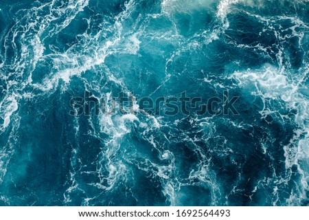 Water Sea Blue Atlantic Ocean #1692564493