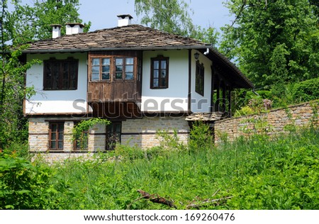 Restored medieval house in the Bulgarian village of Bozhentsy #169260476