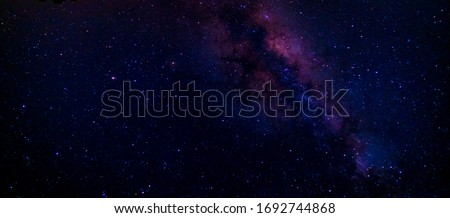 Nightsky Showing the Lights of the Milkyway-0002 Royalty-Free Stock Photo #1692744868