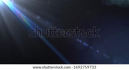 Overlays, overlay, light transition, effects sunlight, lens flare, light leaks. High-quality stock image of sun rays light effects, overlays or flare glow isolated on black background for design