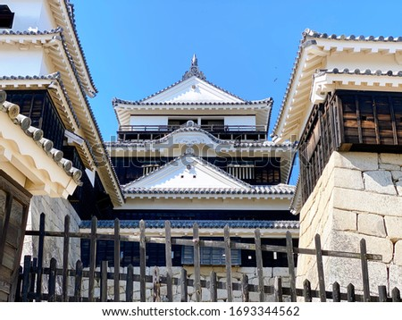This is a picture of Matsuyama Castle.