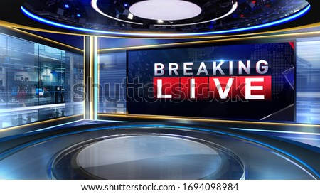 news Virtual set studio for chroma footage Realize your vision for a professional-looking studio – wherever you want it. With a simple setup, a few square feet of space, and Virtual Set , you can tran Royalty-Free Stock Photo #1694098984