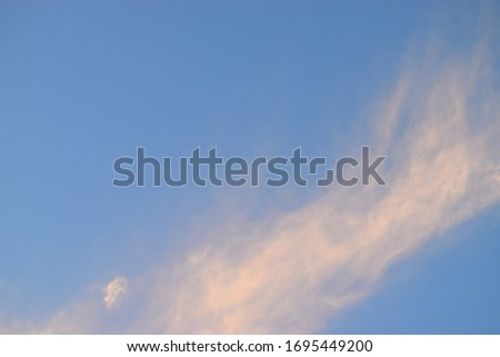 Weather images with blue colors, white and yellow background.picture with good blue weather colors wand white background.