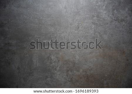 grunge concrete stone or rusty metal background texture with copy space #1696189393