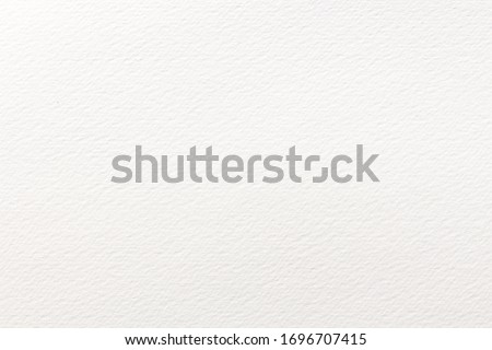 White paper texture background and watercolor paper
