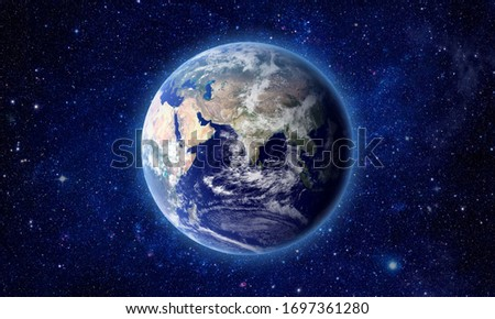 Earth - Elements of this Image Furnished by NASA