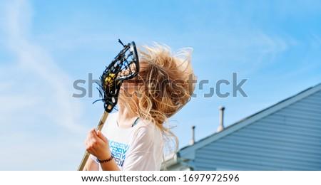 Lacrosse joy in self isolation