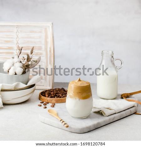 dalgona coffee / whipped coffee #1698120784