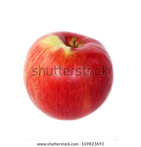 Apple on white background #169823693