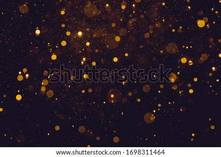Glittering stars of bokeh use for celebrate background Royalty-Free Stock Photo #1698311464