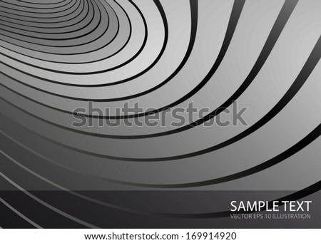 Vector silver design background template - Metal  background illustration for modern design illustrations  #169914920