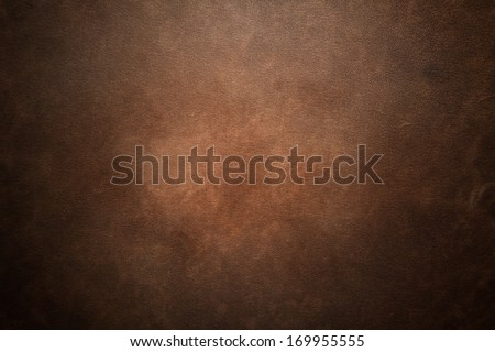 Old brown leather background Royalty-Free Stock Photo #169955555