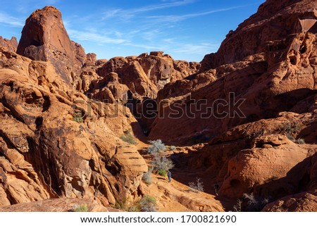 Las Vegas, Nevada,USA - 2020/01/04 - winter trip to Valley of Fire #1700821690