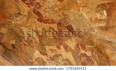 Amazing Inside View Pictures of the Laas Geel cave formations - an earliest known cave paintings in the Horn of Africa, Somaliland