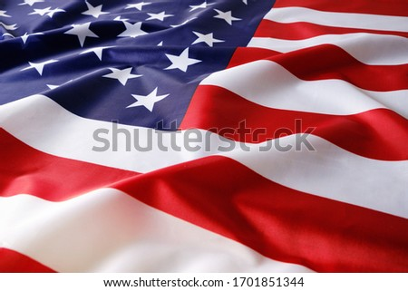 Background, flag of the United States of America,USA Royalty-Free Stock Photo #1701851344
