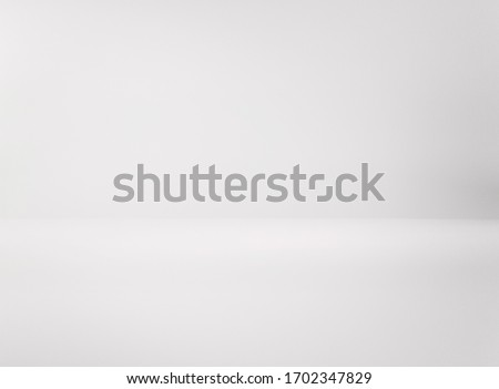 Abstract gray background, white backdrop.
