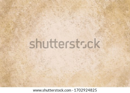 Brown yellowish paper or textured background. Vintage blank paper 300 dpi.