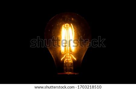 Light Bulb in the Dark #1703218510
