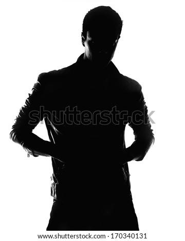 male silhouette #170340131