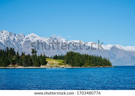 The picture of Queenstown New Zealand