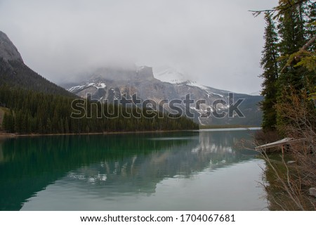 Gatorade blue water at the famous Emerald Lake