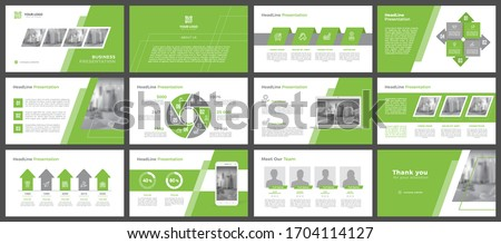 Presentation templates, corporate. Elements of infographics for presentation templates. Annual report, book cover, brochure, layout, leaflet layout template design. #1704114127
