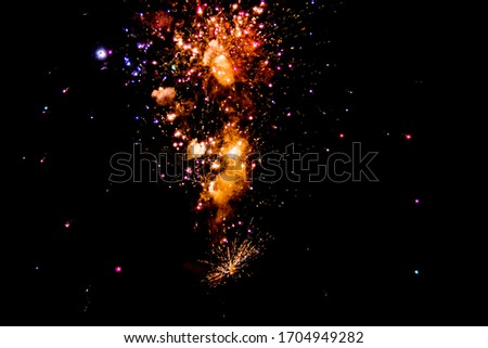Picture of Firework in the sky