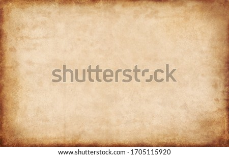 Old paper texture background, vintage retro newspaper empty blank space page with grunge stain line pattern for text creative, backdrop, wallpaper and any design Royalty-Free Stock Photo #1705115920