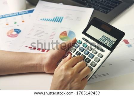 Close Up Business Financing Accounting Banking  #1705149439