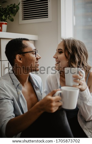 love story photoshoot in the apartment  #1705873702