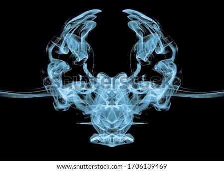 smoke effect owl created with smoke #1706139469