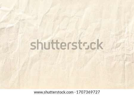 light yellow crumpled paper background texture   #1707369727