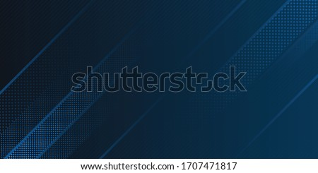 Blue Background. Dark blue abstract background geometry shine and layer element vector for presentation design. Vector design for business, corporate, institution, party, festive, seminar, and talks Royalty-Free Stock Photo #1707471817