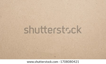 Abstract brown recycled paper texture background. Old Kraft paper box craft pattern. top view. #1708080421