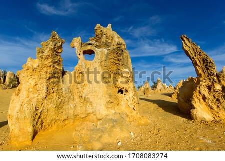 The Pinnacles, Nambung National Park, Cervantes, West Australia, Australia.