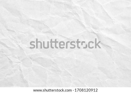 grey crumpled kraft background paper texture