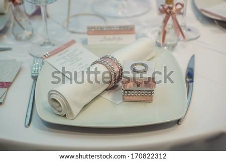 Wedding table #170822312