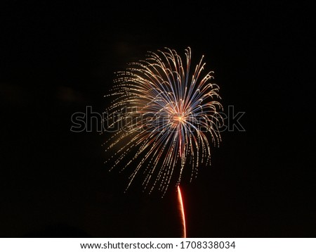 this is fireworks picture in japan.
