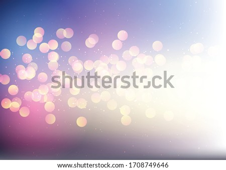 Abstract background with a sparkling bokeh lights design #1708749646