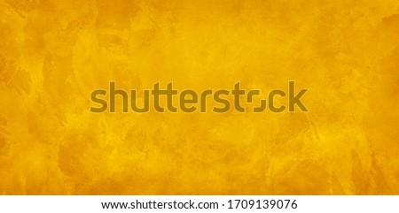 Gold background, yellow marbled texture backgrounds, old vintage watercolor painted paper or textured antique wall with distressed antique grunge for website or product designs #1709139076