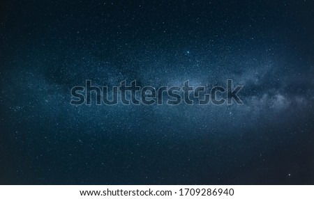 Background of starry night; background of Milky Way Galaxy