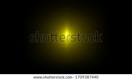 3D Render Model Golden Glow Ring in the Deep Black Background Texture #1709387440