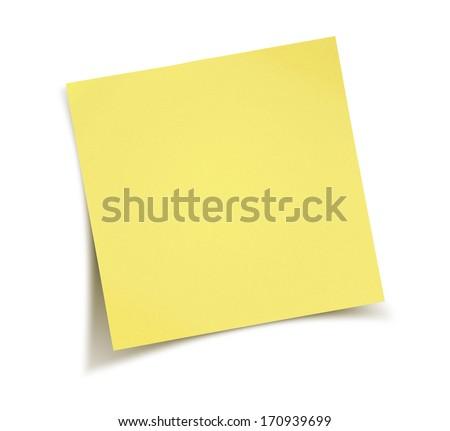 Yellow notepad Royalty-Free Stock Photo #170939699