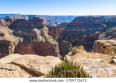 View from the edge of Grand Canyon. USA. #1709772673